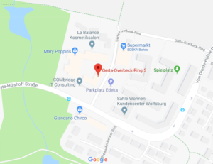 Anfahrt Filiale Wolfsburg